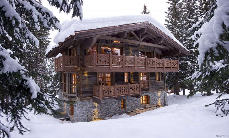 The Chalet Les Gentianes 1850 In Courchevel The French Alps Chalet Interior Swiss Chalet French Alps