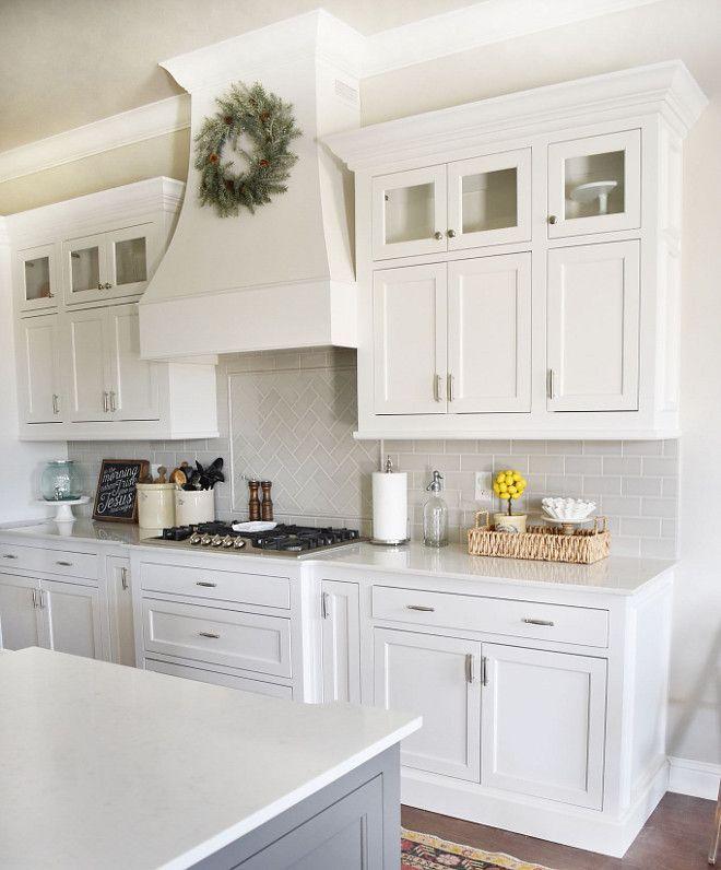 Neutral Kitchen Backsplash Tile Neutral Kitchen Backsplash Tile Cabinet Style Custom Made Modern Farmhouse Kitchens White Kitchen Backsplash Kitchen Design