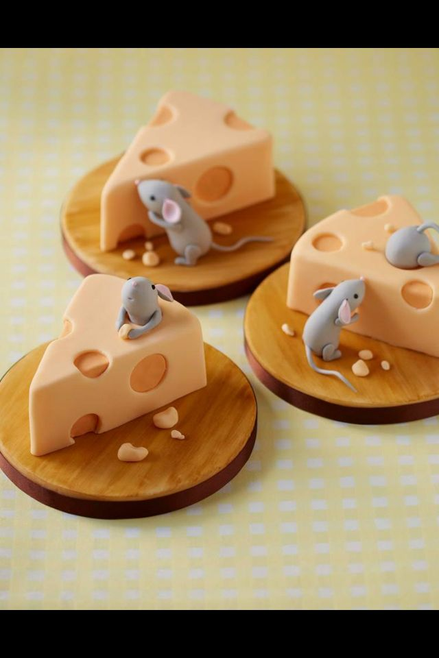 Mouse Amp Cheese Cakes For Norma In 2019 Mini Cakes