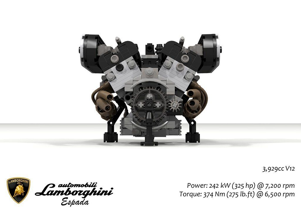 Lamborghini Espada & UCS 3.9L V12 Engine (1968) https ...