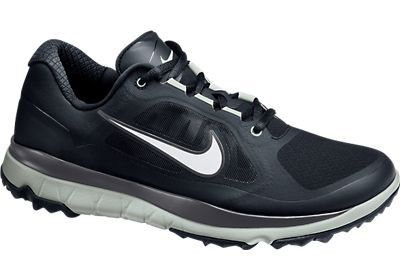 cheaper 11500 9a773 Nike Golf FI Impact Golf Shoes - 611510-004 BLK MTLLC SLVR-LT BS GRY-DRK B