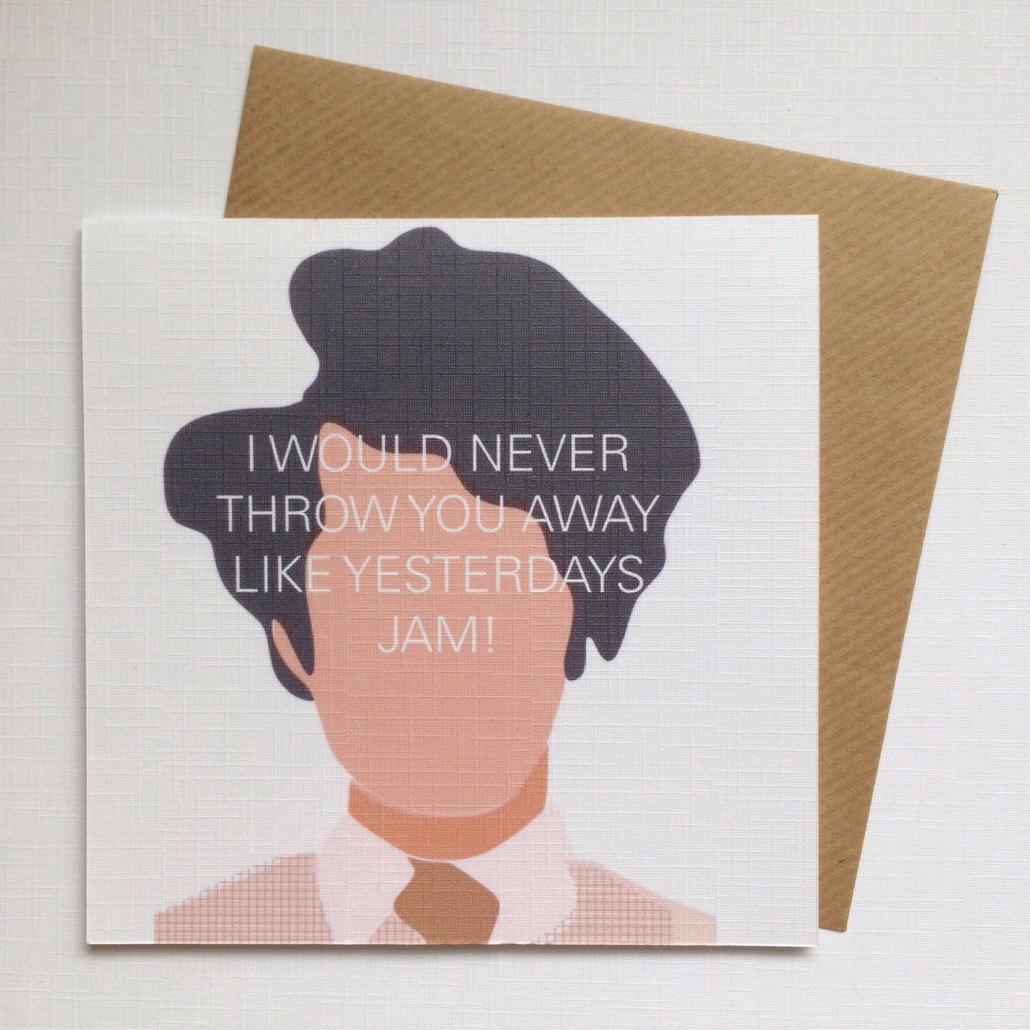 Funny Greetings Card It Crowd Maurice Moss British Comedy