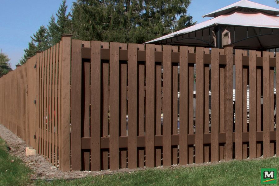 add some privacy to your backyard with 6u0027 composite fencing by ultradeck - Composite Fencing