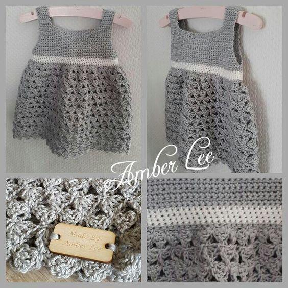 Haakpatroon Baby Jurkje Crochet Pinterest Crochet Baby