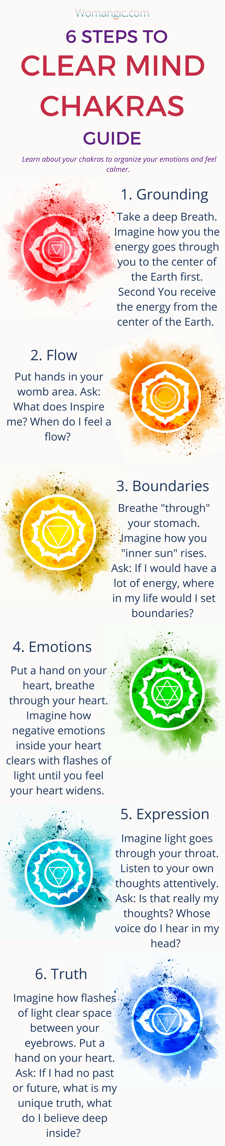 Do You Struggle To Calm Down Your Mind These Steps Can Help Chakra Chakra Balancing Root Sacral Solar Plexus Chakra Affirmations Chakra Chakra Cleanse