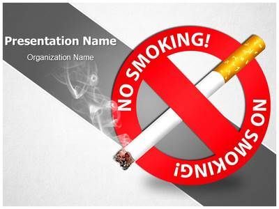 Download Our Professionally Designed No Smoking Signs Ppt Template