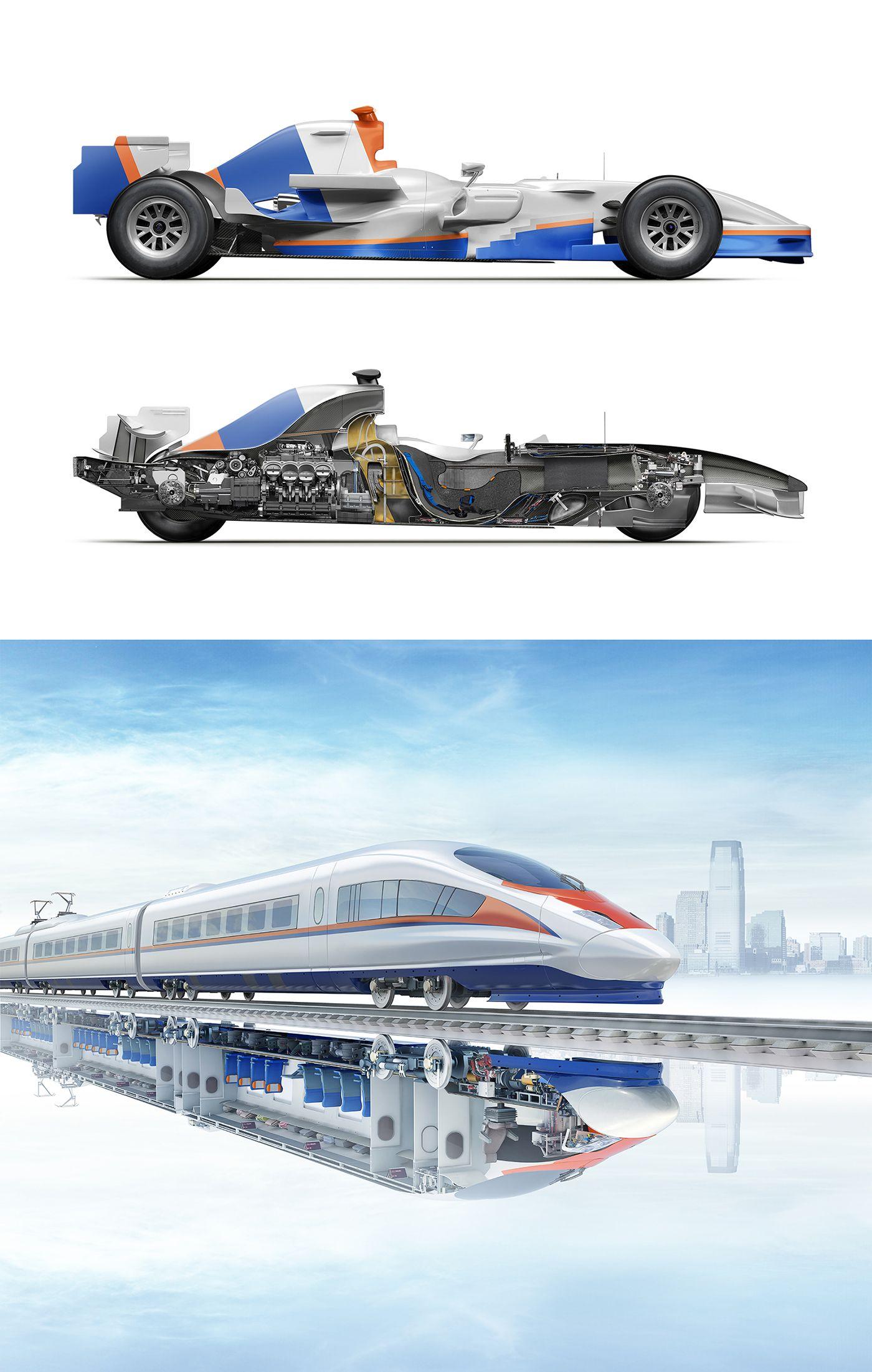 Illustrations For Promsvyazbank S Print Campaign Inside