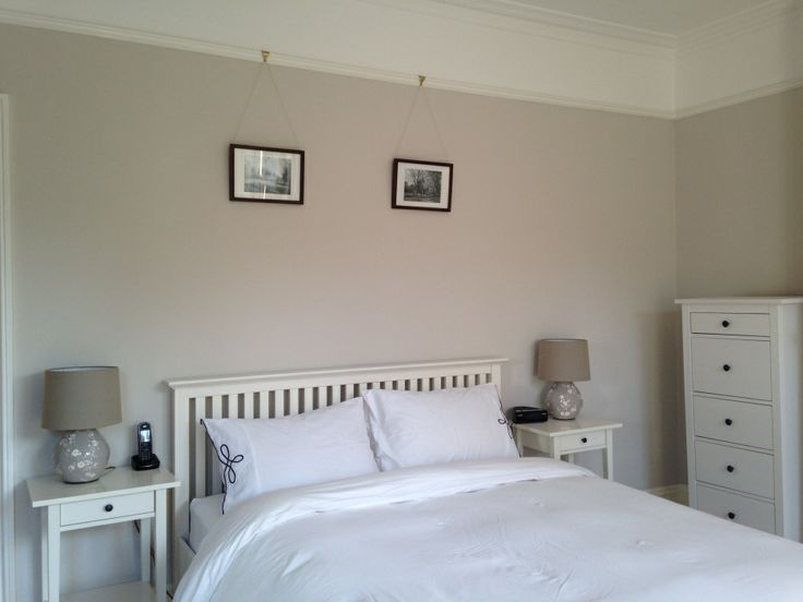 Dulux Timeless And Egyptian Cotton In A Bedroom Google