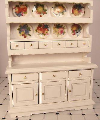 Emporio Armani Classic Watch  Dollhouse Furniture Miniatures And Gorgeous White Kitchen Hutch Inspiration Design