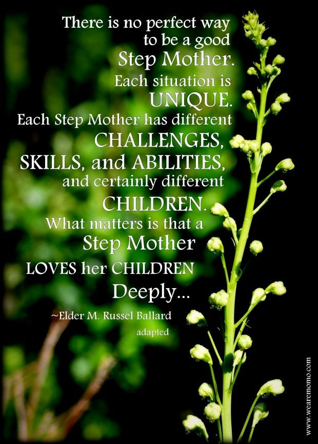 STEP MOTHERS LOVE DEEP...