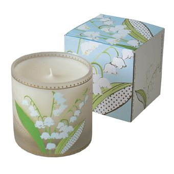 Lily of the Valley large scented candle, £27, Designer's Guild