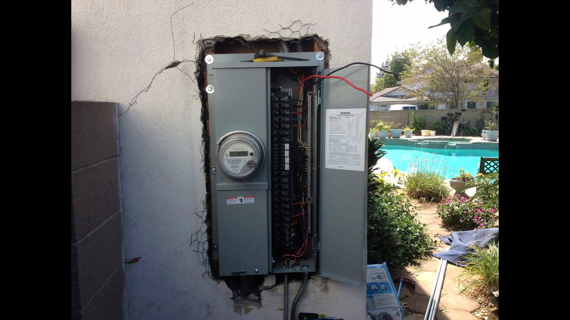 Electrical Panel Anaheim California Electrical panel