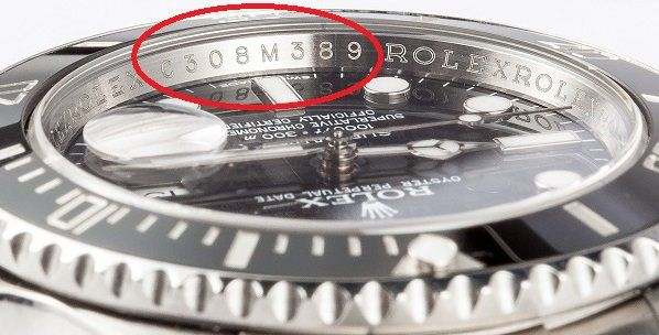 rolex serial number lookup authenticity