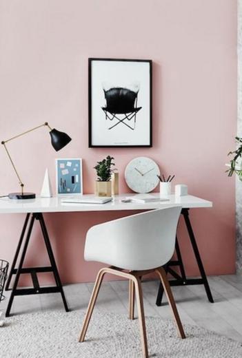 ideas pintar estudio colores para pintar el estudio rosa pastel para paredes
