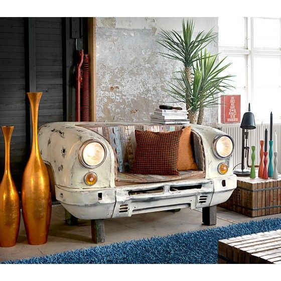 Canapé Banquette Design Vintage Car ATYLIA Products I Love - Canapé banquette design