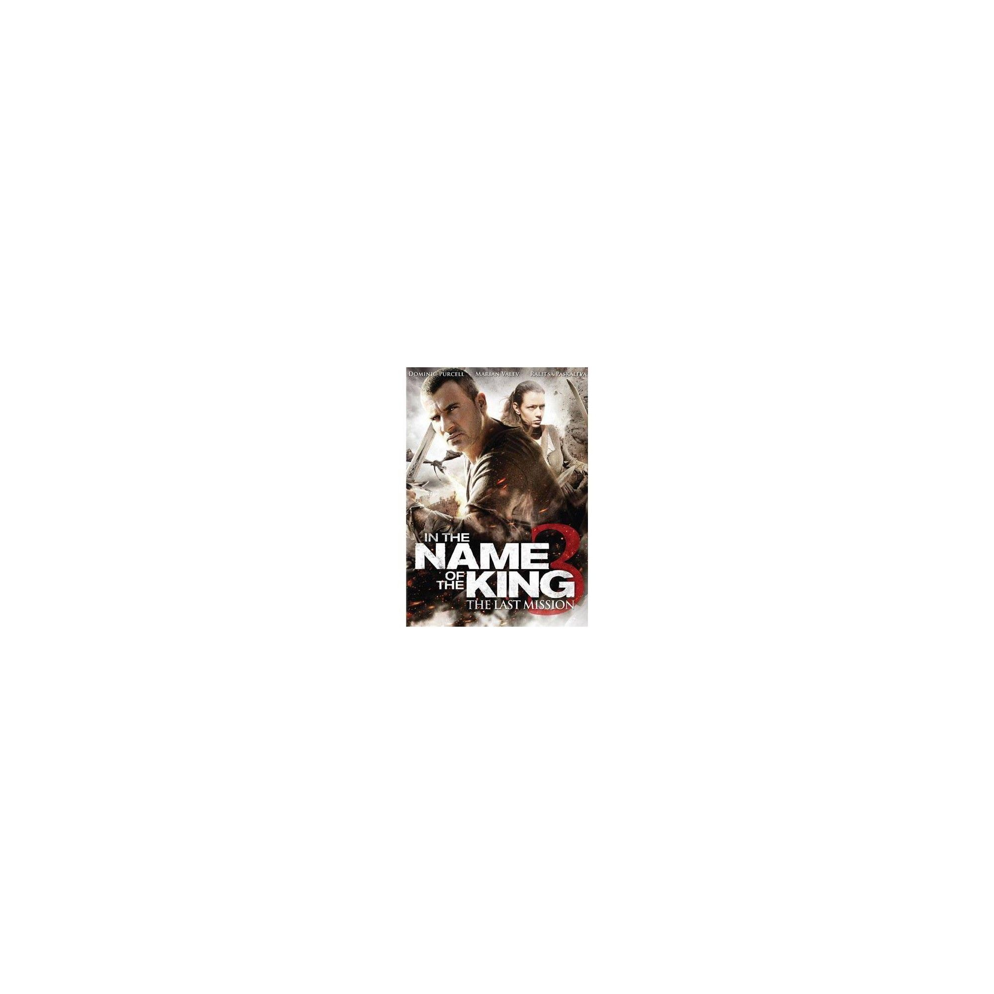 In The Name Of The King 3 The Last Mission Dvd The 3 Kings Mission Dvd