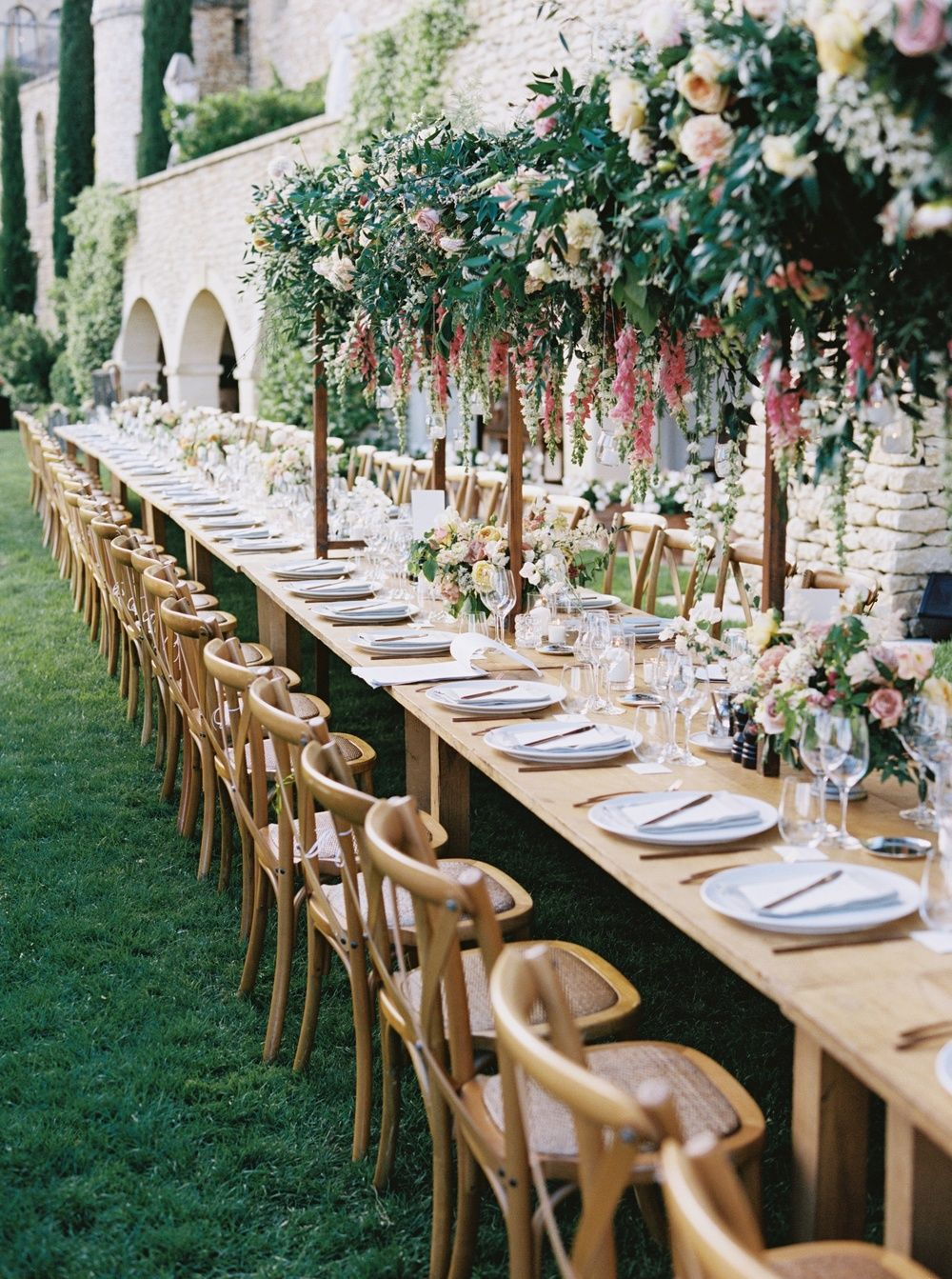Idyllic Chateau Wedding In The South Of France Outdoor Wedding