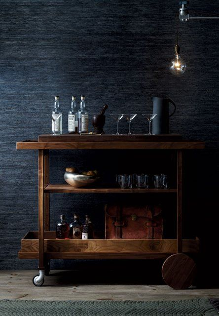 The New Traditionalists Bar Cart no. One - http://thenewtraditionalists.com/products.php?productid=51