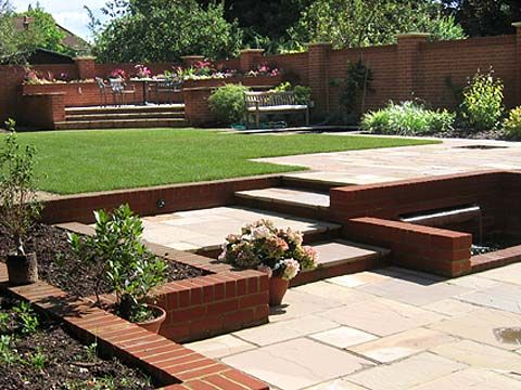 split level lawn garden pinterest - Google Search | Garden ... on Split Garden Ideas id=61178