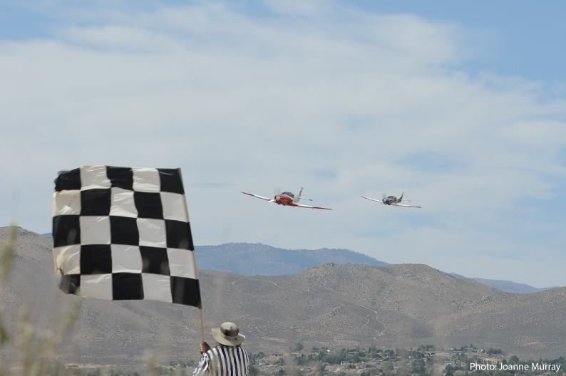 The drama of taking the checkered flag at the Reno Air Races