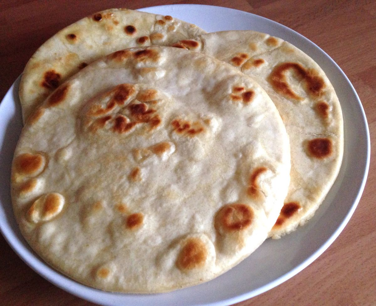 Two Ingredient Flat Breads | budget food mummy