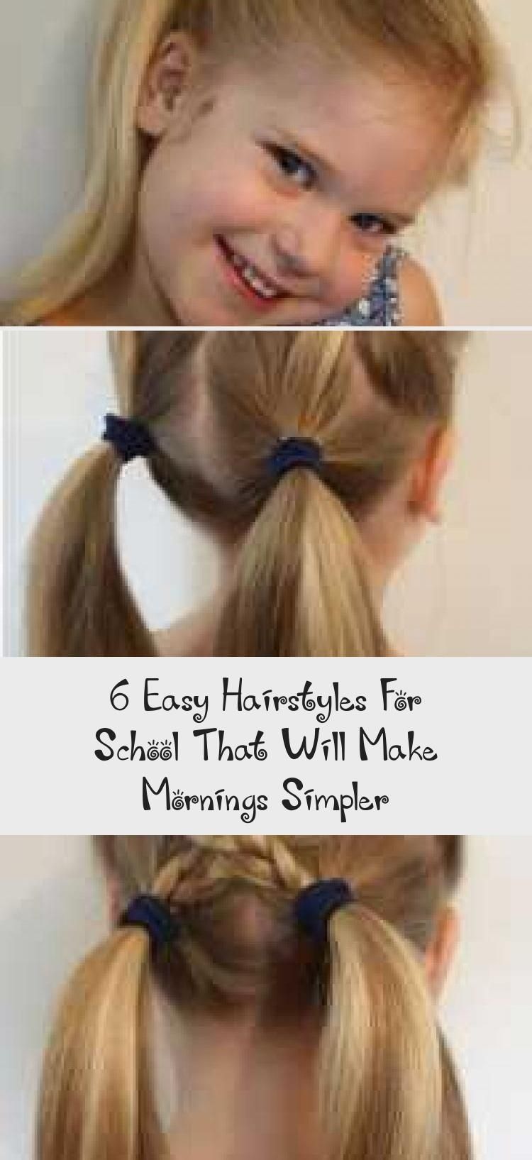 Photo of 6 Easy Hairstyles For School That Will Make Mornings Simpler – Hair Styles