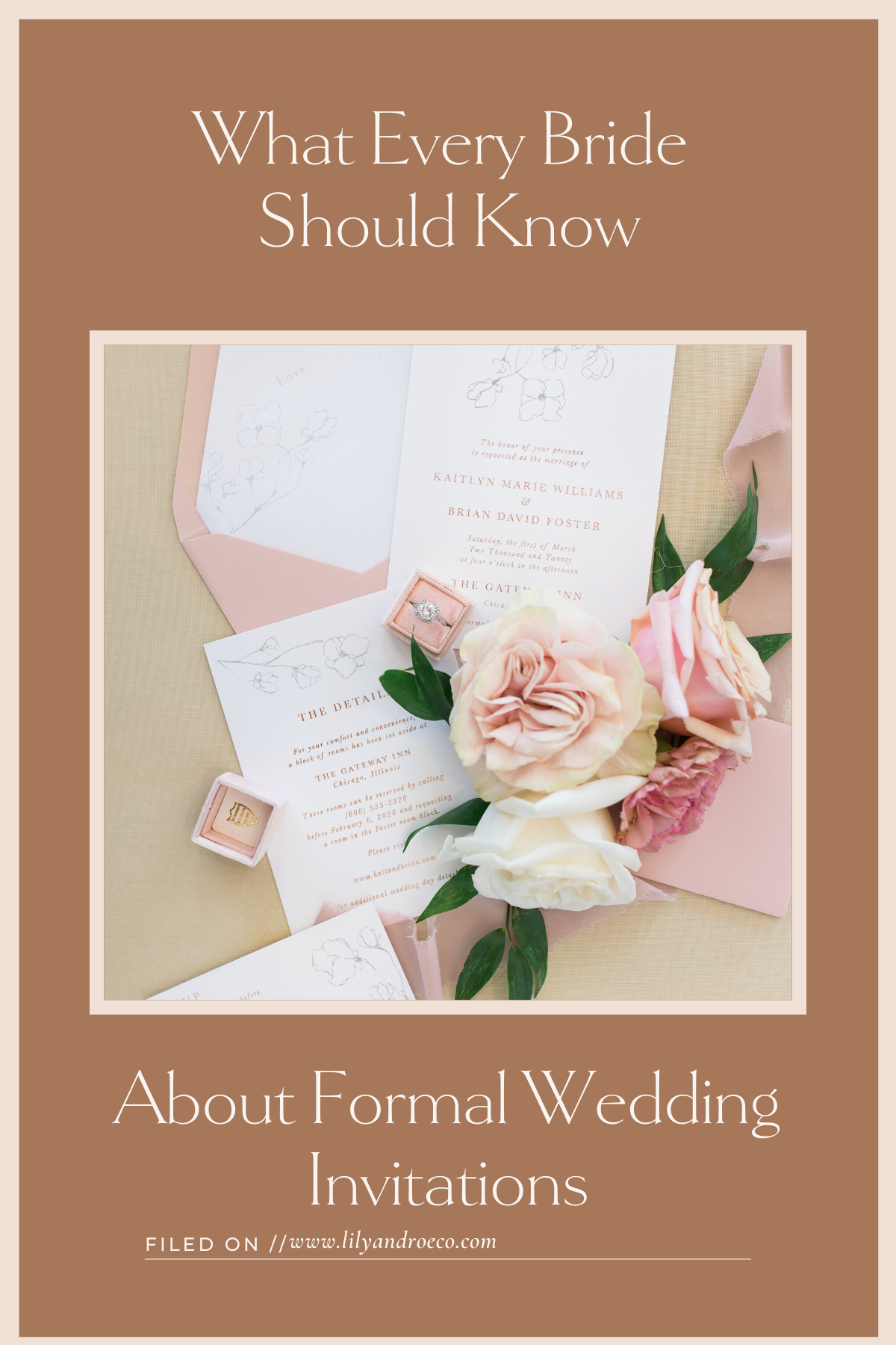 Formal Wedding Invitation Wording Examples & Pro Tips in