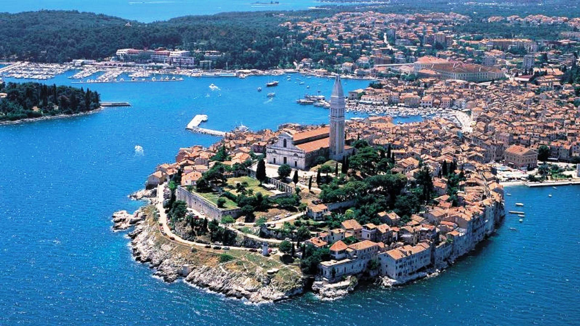 """""""Istria is the largest Croatian peninsula, unique and"""