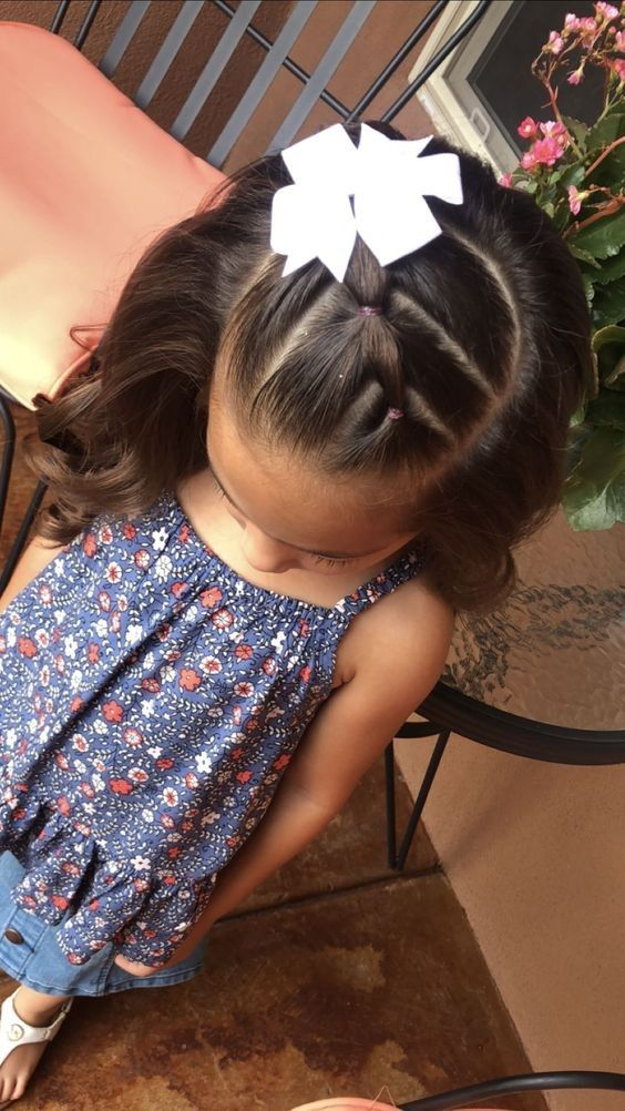 36 Super Cute Hairstyles For Your Daughter 2019 Ponytail - Hair Beauty