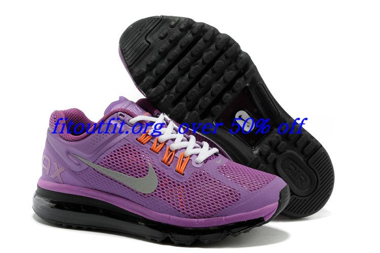 Free Shipping 6070 OFF Discount Nike Air Max 2015 Mesh Cloth Womens Sports Shoes  Purple SK192673