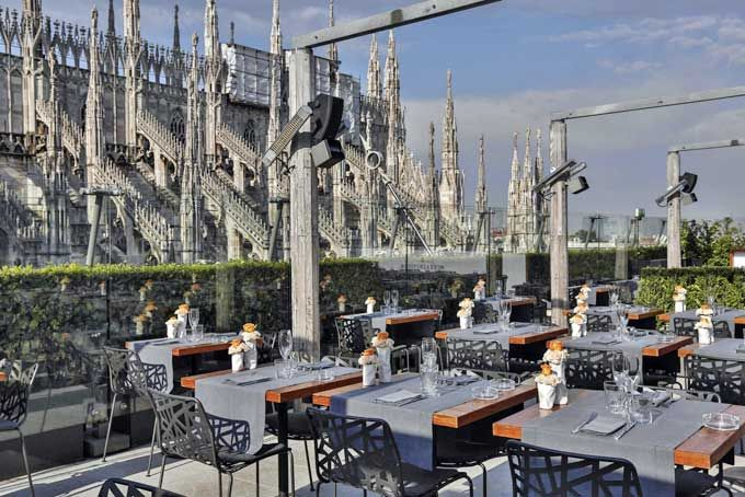 Rinascente Rooftop Bar Milan A Place In Milan Milano