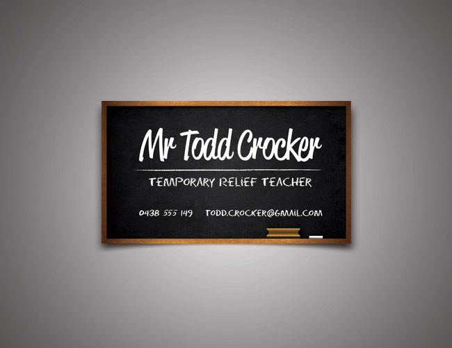 relief teacher business cards Google Search Teach Pinterest