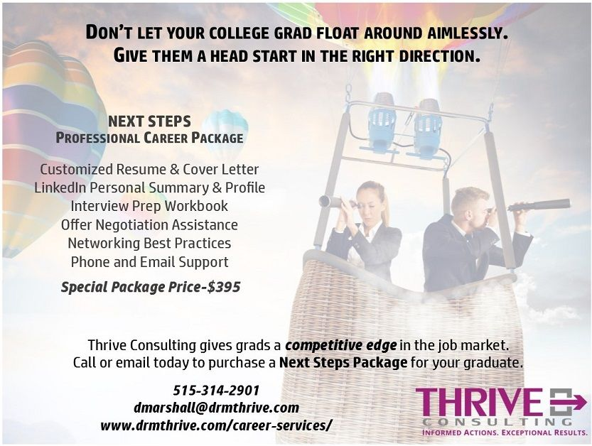 Donu0027t let your college grad float around aimlessly Give them a - cover letter consulting