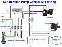 Contactor And Overload Wiring Diagram Single Phase With 3 Wire Submersible Pump Control Box Or Starter Installation Guide