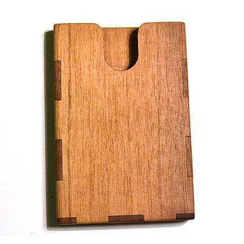 Wooden Business Card Holder By Mgb Laser Cutting Ideas Pinterest