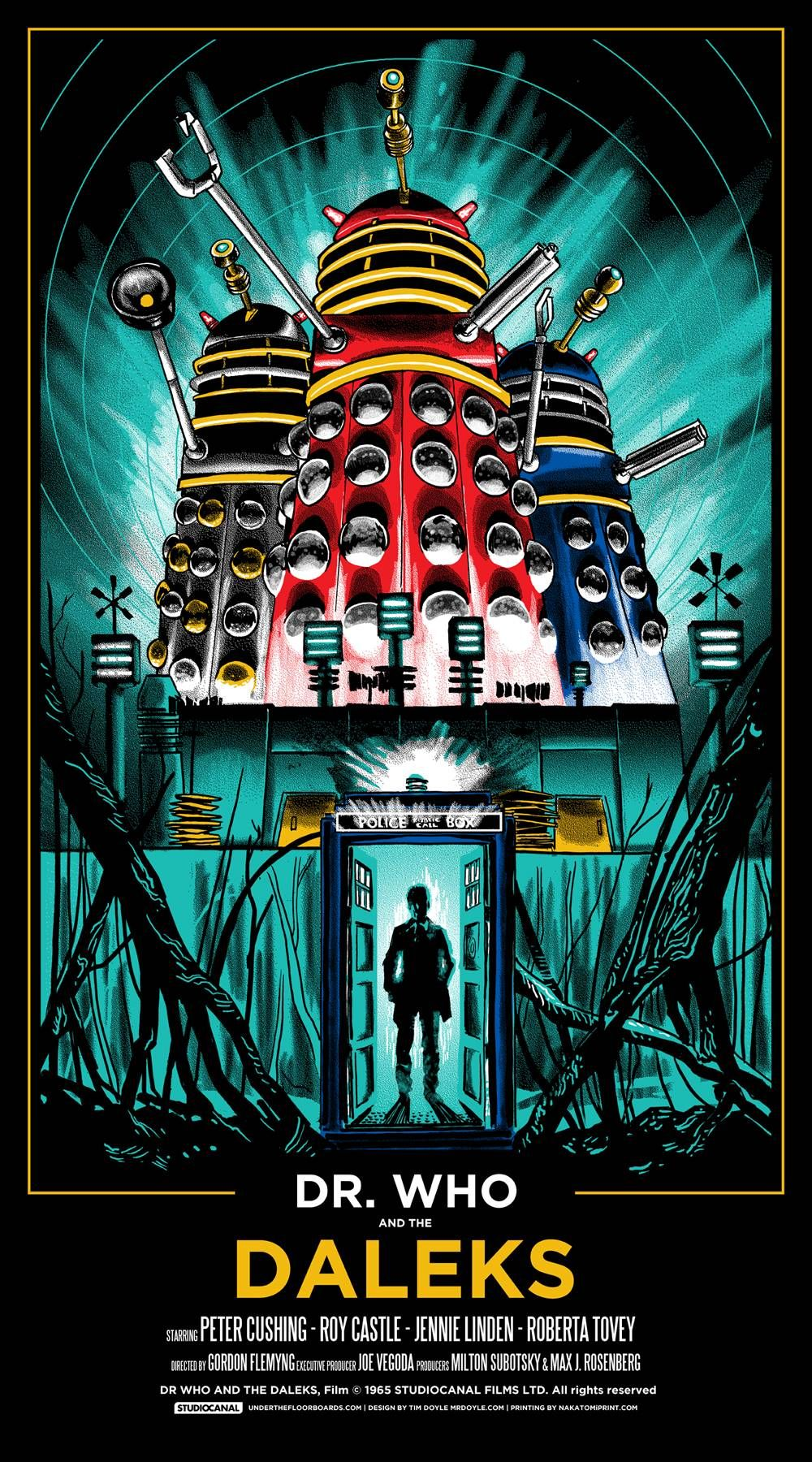 Dr Who and the Daleks #DoctorWho