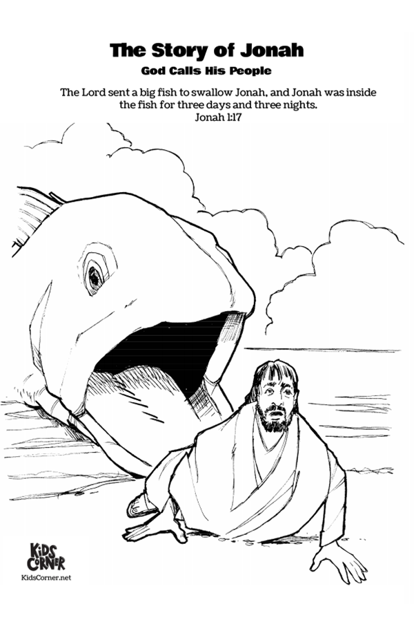 The Story Of Jonah Jonah And The Whale