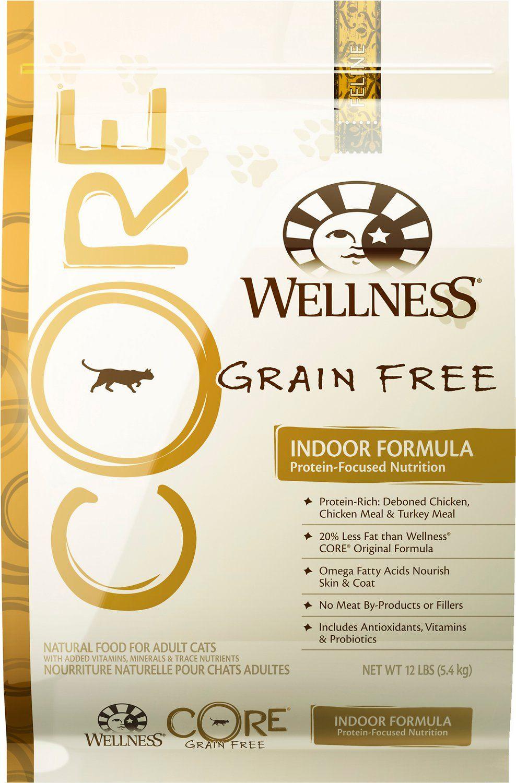 Wellness Core Grain Free for Cats Indoor cat food