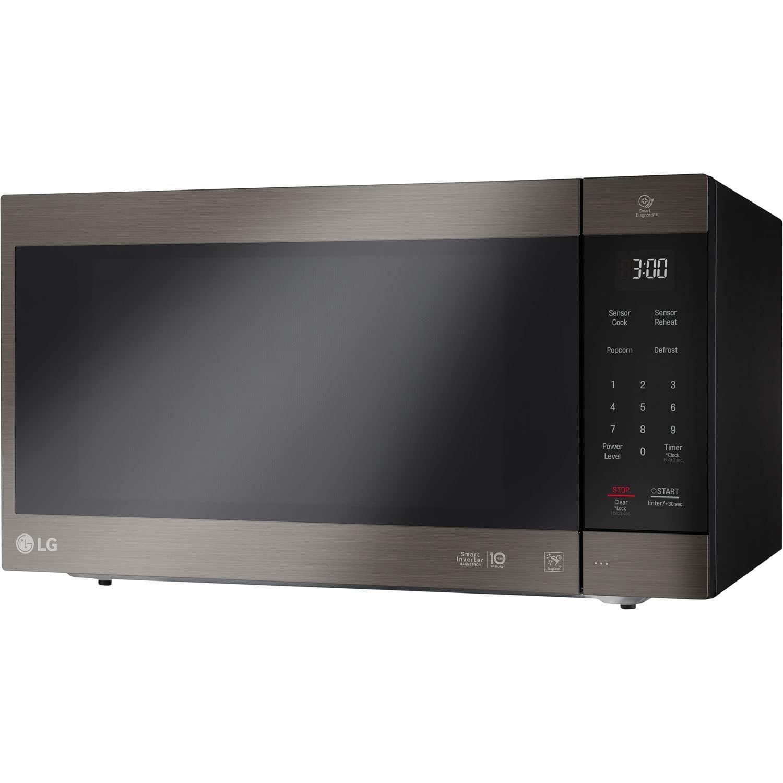 Lg Lmc2075bd 2 0 Cf Neochef Countertop Microwave Black Stainless