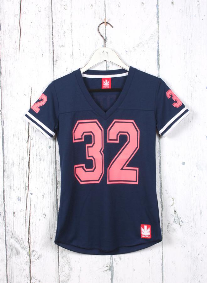 Moda Marinocoralfluor Kaotikobcn 32 Camiseta Rugby Mujer fCCPaqwXd