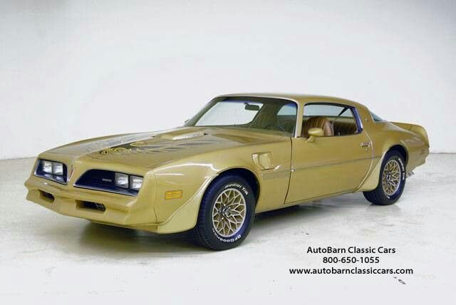 78trans Am Solar Gold Pontiac Firebird Muscle Cars For Sale