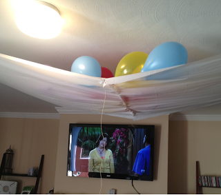 diy balloon drop kid stuff Pinterest Balloon drop Drop and Nye