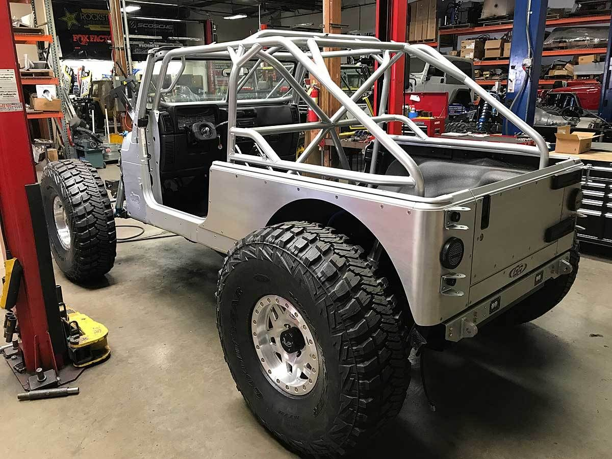 Jeep Lj Fastback Laser Notched Full Roll Cage Kit In 2020 Roll