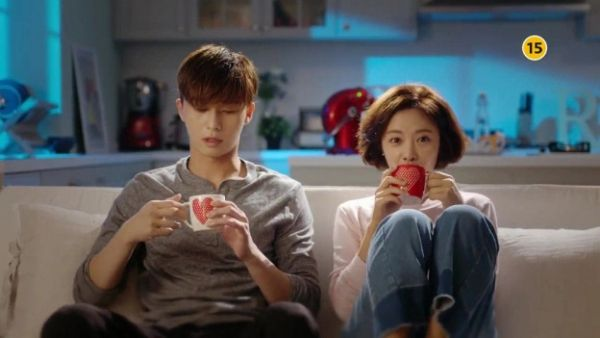 Park Seo Joon and Hwang Jung Eum portray lovers in 'She Was Pretty.'