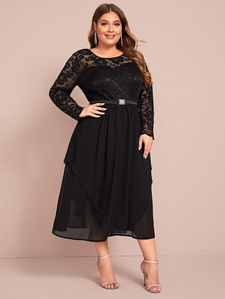 Nombre Del Producto Shein En 2020 Vestidos De Talla Grande Vestidos Bonitos De Fiesta Vestidos De Tirantes