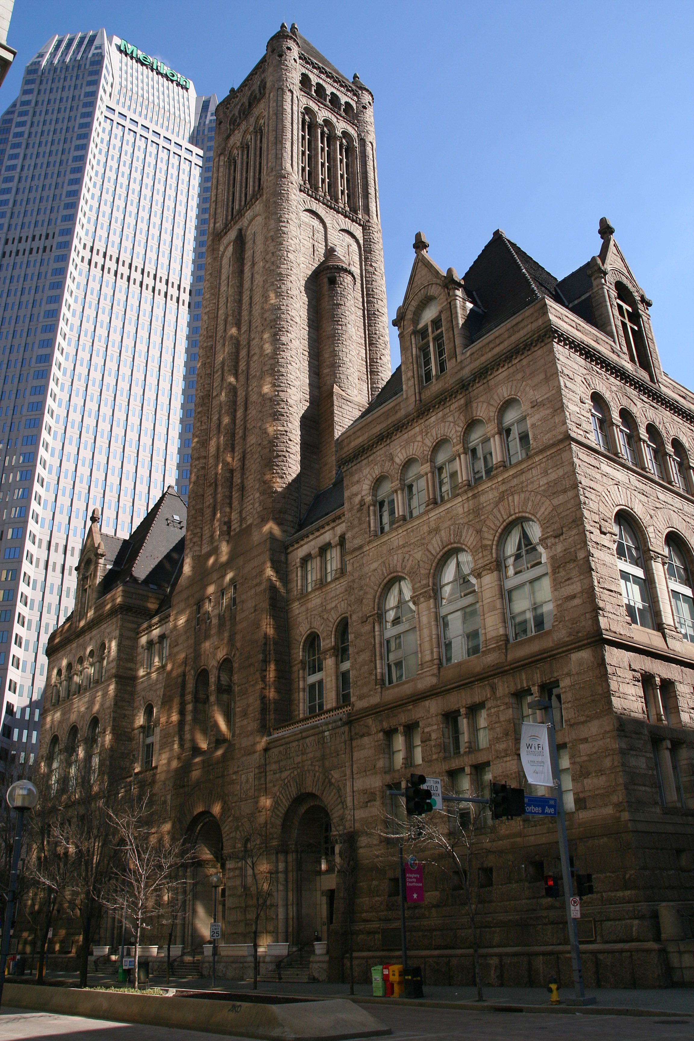 Stunning Romanesque revival style in the old county courthouse in ...