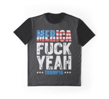 """merica fuck yeah 2016"" T-Shirts & Hoodies by barbiejahat 