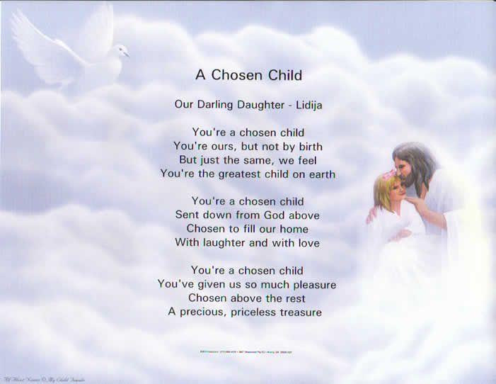 Inspirational Quotes About Loving Children Enchanting Inspirational Quotes For Adopted Children .chosen Child
