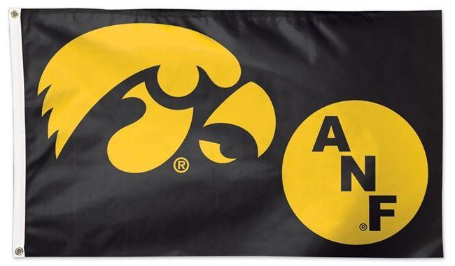 Iowa Hawkeyes Flag 3x5 2 Sided America Needs Farmers Anf Iowa