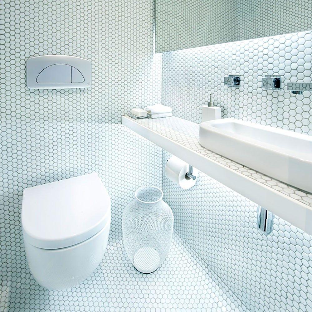 white hexagon gloss tiles bijou hexagonal mosaic tiles 335x292x4mm tiles